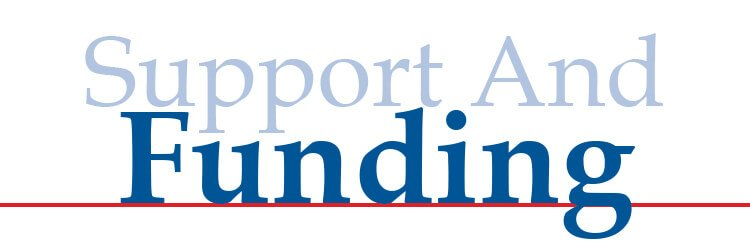 Support and funding